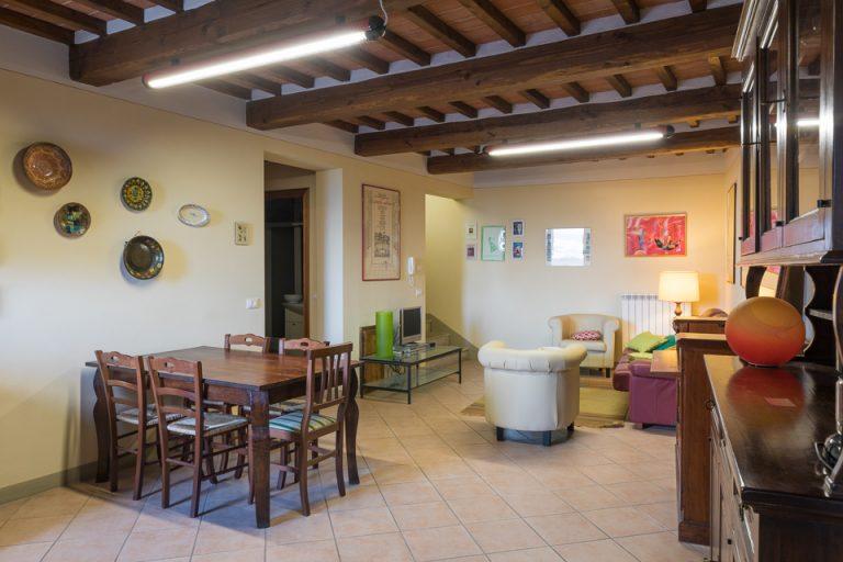 Apartament Lucignano Dolce living