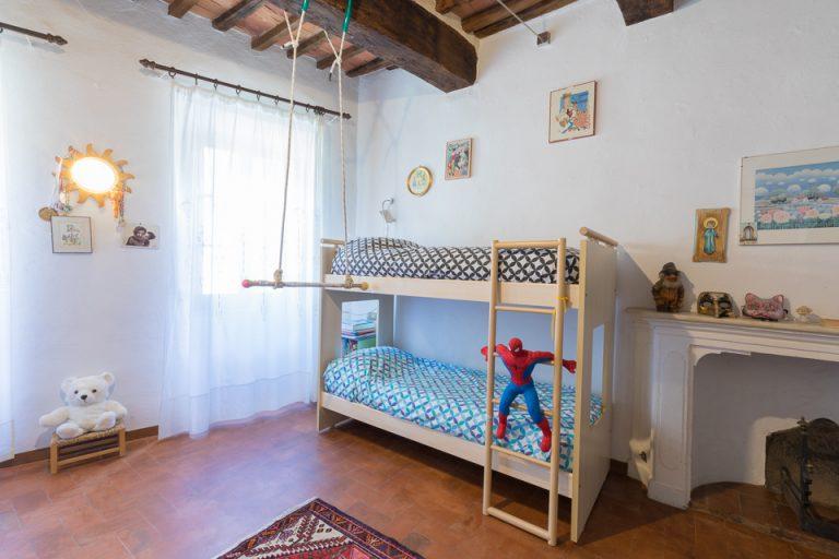 Apartament Lucignano Garden on the wall Bedroom (2)
